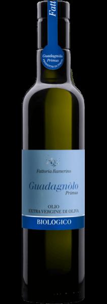 Guadagnòlo Primus Olio extra vergine d'oliva BIO 0.5 L – Fattoria Ramerino